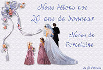 Noces de Porcelaine