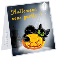 mini carte Halloween