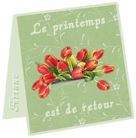 mini carte Printemps