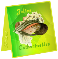 mini carte Catherinettes